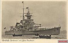 Schlachtschiff Gneisenau.