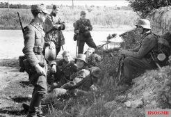 Soldaten on the Gothic Line.