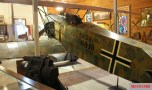 A preserved Fokker D.VII with original-style Balkenkreuz of 1918.