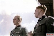 Max Wünsche and Joachim Peiper,1940.