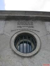 Memorial to Harro Schulze-Boysen, Niederkirchnerstrasse, Berlin.