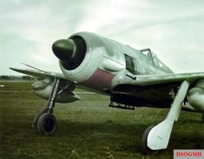 A rarely-photographed Focke-Wulf Fw 190 A-5/U8.