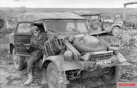 The Kübelwagen on the Eastern Front in 1943.