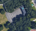 Google earth view of Ehrenhalle.