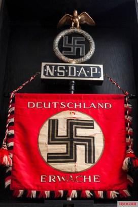 Germany Awake standard in a museum.