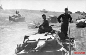 13th Panzer Division in Poland, 1941.