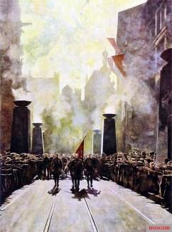 """""""The Flag"""" by Paul Herrmann."""