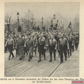 March on the Feldherrnhalle.