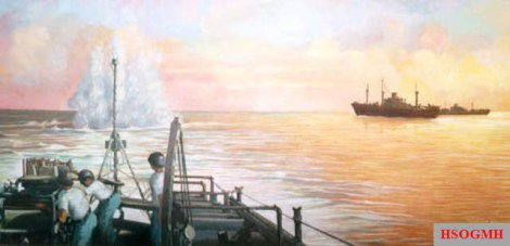 Brazilian Navy on anti-submarine warfare in the South Atlantic, 1942.
