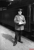 A DRG conductor in 1928.