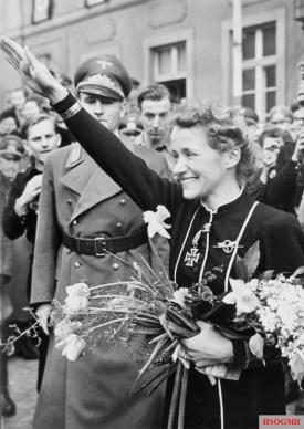 Hanna Reitsch in 1940s.