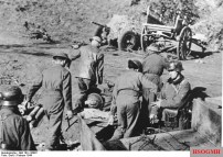 British POWs near Nettuno
