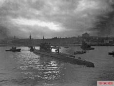 U-190 in June 1945.