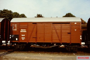 A DR goods wagon.