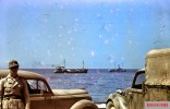 North African harbor (could be Benghazi or Tripoli) during the German drive to Egypt, 1941.