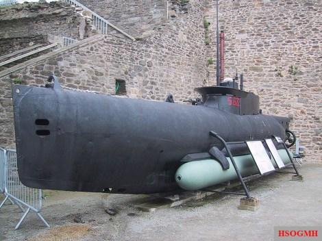 S 622, at the Musée national de la Marine, Brest, France - 2004.