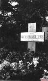 Werner Mölders' original grave marker, 1941.