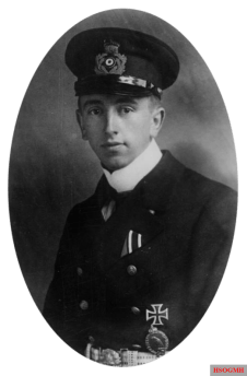 Theo Osterkamp in service during WW1.