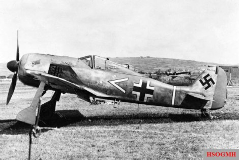 Focke-Wulf Fw 190s that were used for total operations.