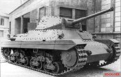Fourteen captured Italian Carro Armato P 40 tanks were supplied to the newly formed division in July 1944, but they proved unreliable.