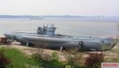 U-995 Type VIIC/41 at the Laboe Naval Memorial near Kiel.