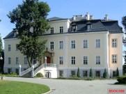 The von Moltke main house at Kreisau.