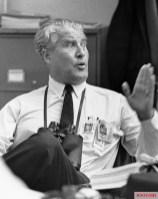 Von Braun during Apollo 11 launch.