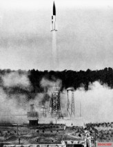 V-2 launch in Peenemünde,1943.