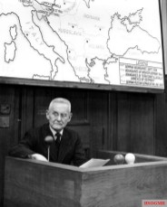 Halder as a prosecution witness in the High Command Trial in 1948.