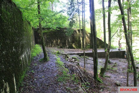 The remnants of the Berghof in 2009.