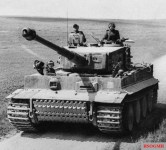 Porsche was heavily involved in the production of advanced tanks such as the Tiger I tank as shown above.