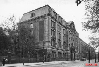 Gestapo headquarters at 8 Prinz Albrecht Street in Berlin in 1933.