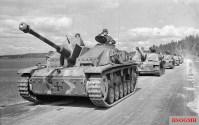 Finnish StuG III Ausf. G assault guns.