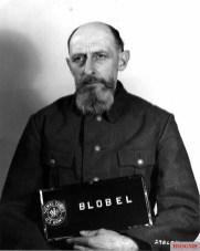 Blobel in custody, 1948.