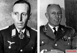 Luftwaffe and later West German Heer comparison.
