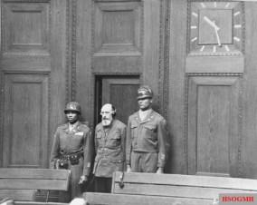 Blobel is sentenced to death at the Einsatzgruppen trial.
