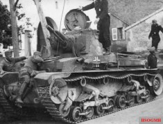 Pz.Kpfw. 35(t) of 6th Panzer Division Russian front, 1941.