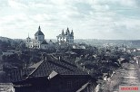 These photos depict Smolensk (Russia) some time after the Battle of Smolensk that occurred in July 1941.