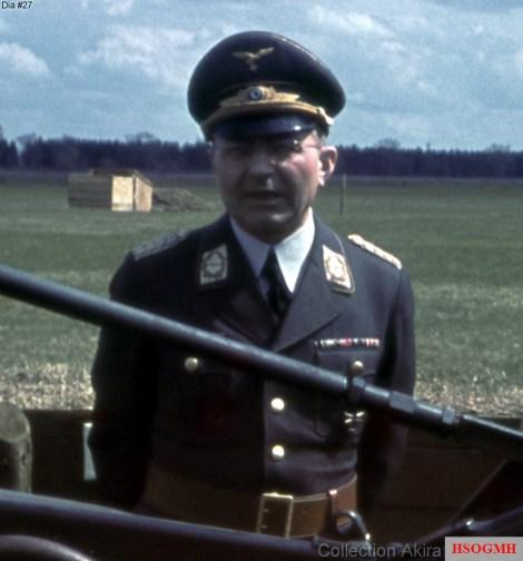 General der Flakartillerie Friedrich Heilingbrunner (5 October 1891 - 17 August 1977) as a Generalmajor in this picture.