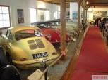 Showroom of the Porsche Museum.