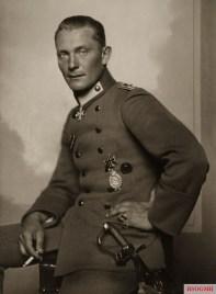 Göring as a fighter pilot in 1917.