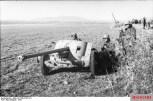 50 mm German antitank gun in Tunisia.