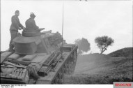 Panzer III Ausf. N moving near the border with Algeria.