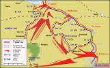 Offensive of the Red Army south of Lake Ilmen, 7 January – 21 February 1942, creating the Demyansk Pocket.