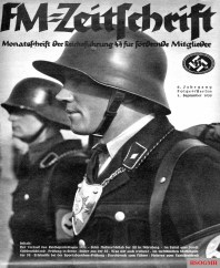 FM Magazine - Monthly of the SS-Reichsführung for promotional members, 1 September 1935.
