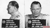 Prisoner's mug shot taken at the Nuremberg Palace of Justice