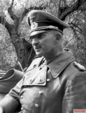 General Hans-Jürgen von Arnim, commander of the 5. Panzerarmee on the Tunisian front.