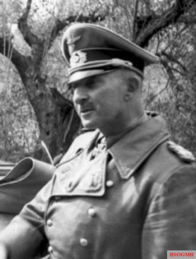 General Hans-Jürgen von Arnim, commander of the 5. Panzerarmee on the Tunisian front.
