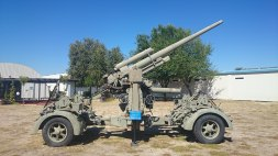 8.8 cm Flak 37 in Madrid, Spain.