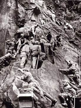 Austro-Hungarian troops, Tyrol.